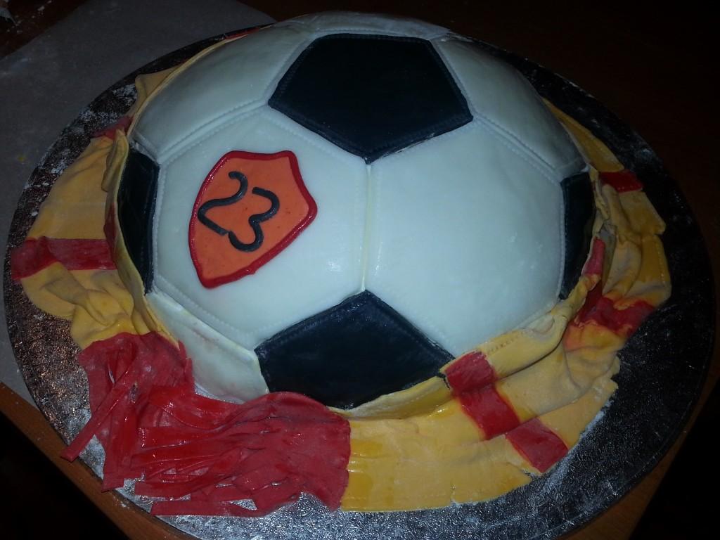 Torta pallone di calcio