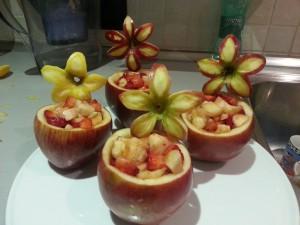 Macedonia nella mela