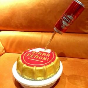 Torta tappo di birra