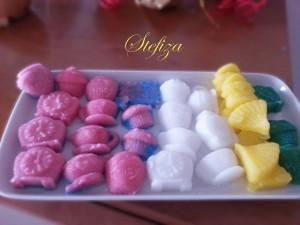 Zollette di zucchero artistiche
