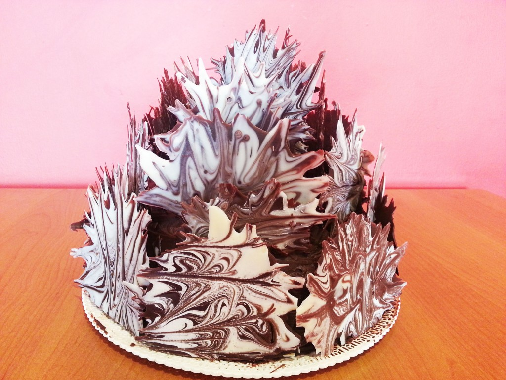 Torta fiammante