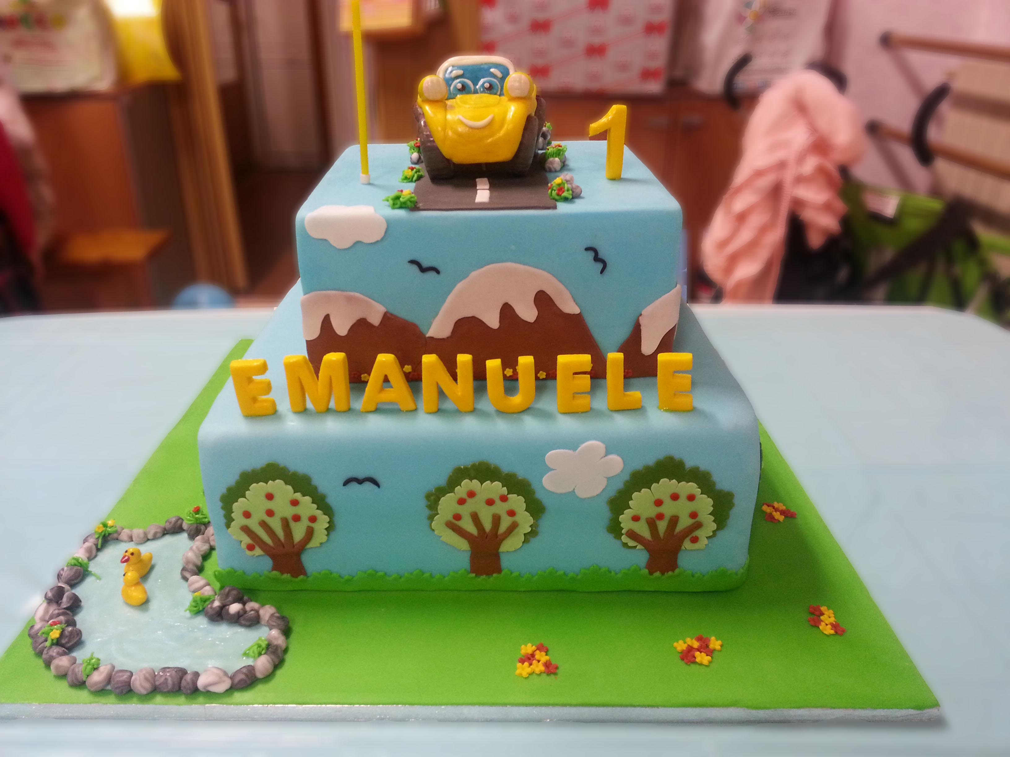 Popolare Torte per bambini - Cuginette sul gâteau KU97
