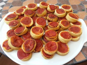 Pizzette rustiche