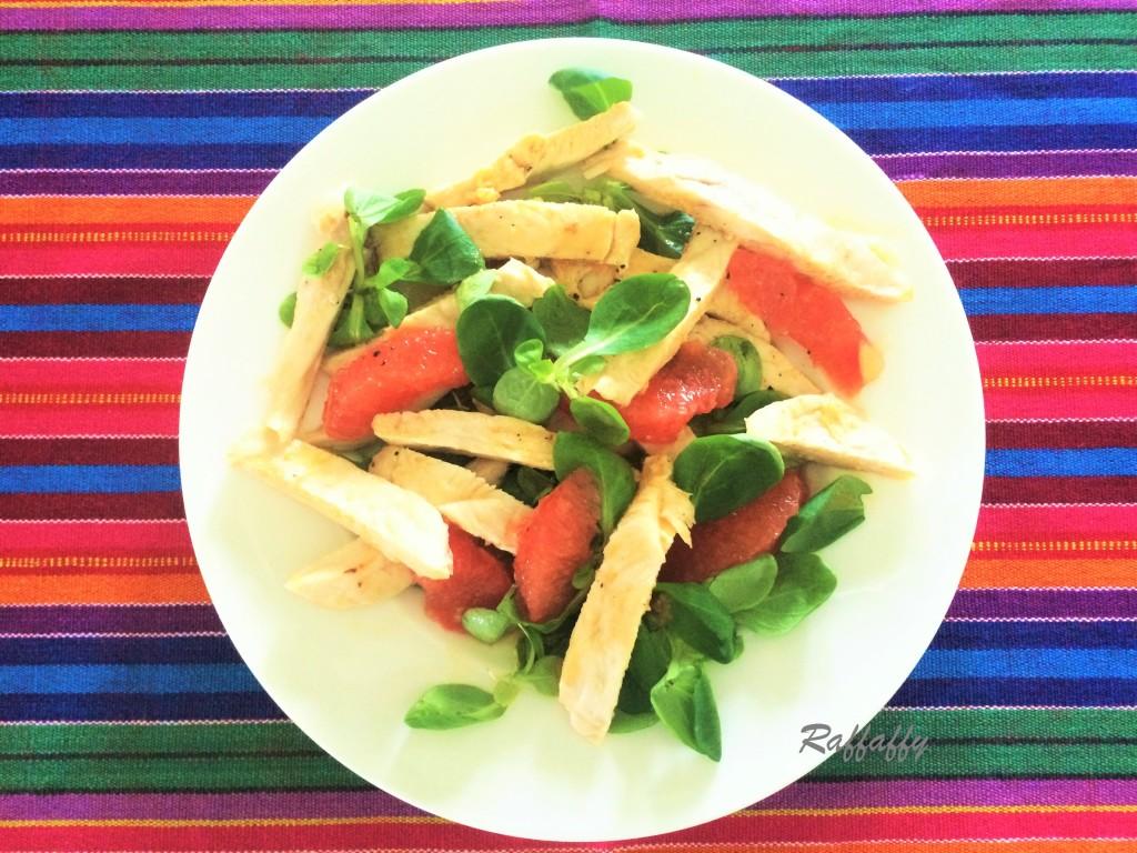 insalata di pollo e pompelmo ^