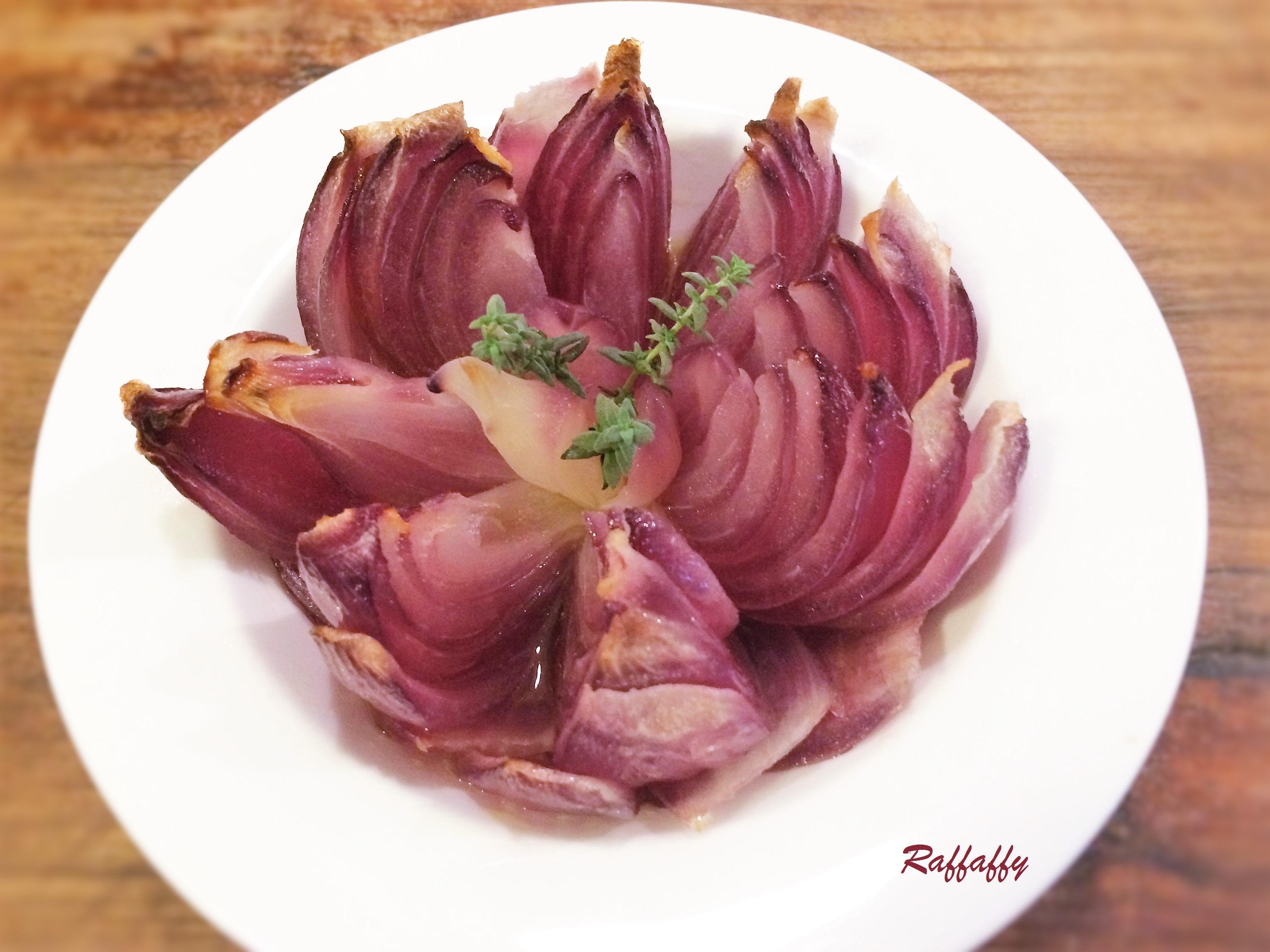 Fiore Di Cipolla Al Forno Cuginette Sul Gâteau