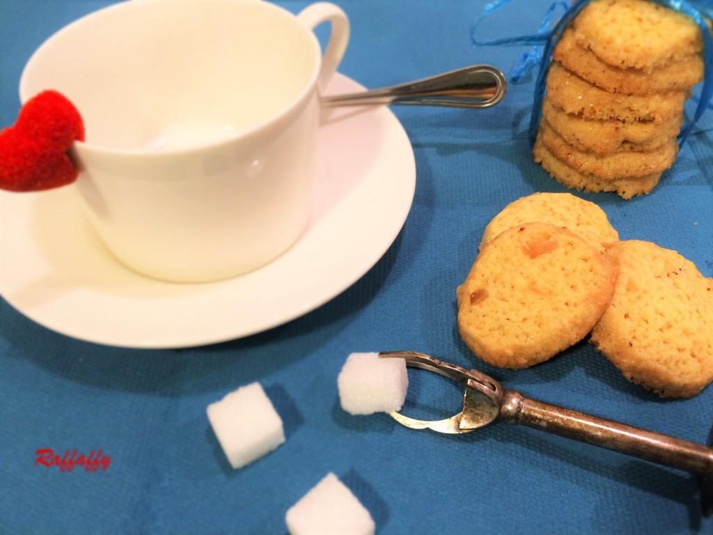 biscotti al cardamomo e zenzero candito