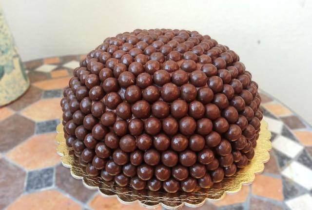 Torta con praline