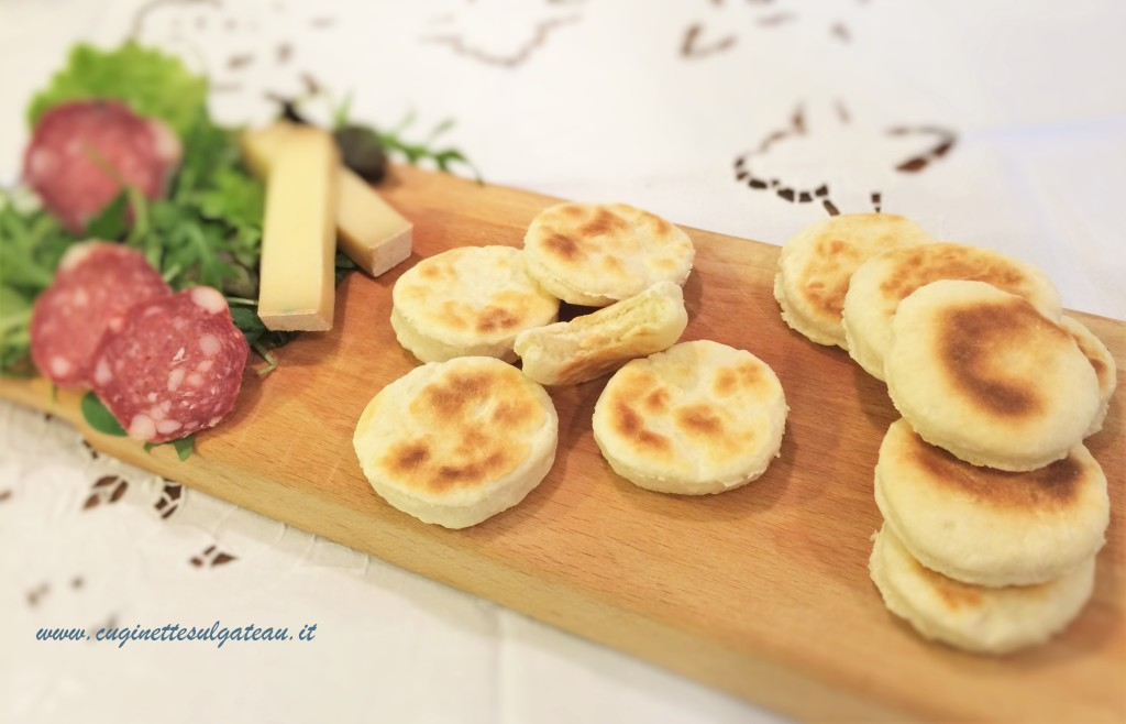 pizzette con yogurt