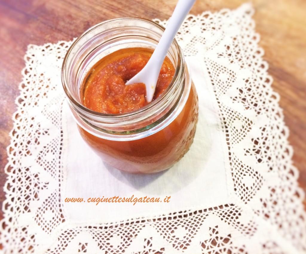 Burro di zucca speziato (Pumpink butter), perfetto per la Pumpink Pie!