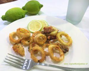 Anelli di calamari fritti… al forno!