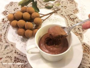 Mousse al cioccolato… senza!