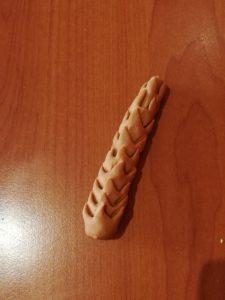 tutorial palma in pasta di zucchero - tronco palma