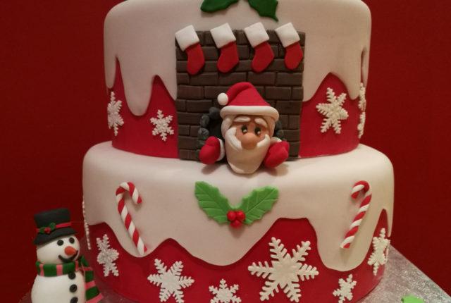 Torte decorate cuginette sul g teau - Torte natalizie decorate ...