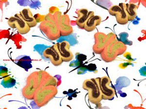 Farfalle di frolla