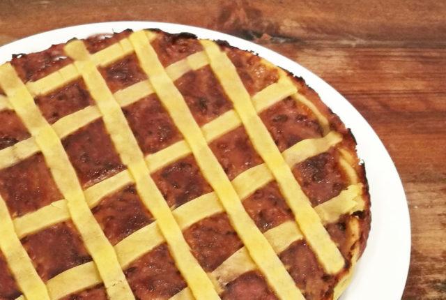 Crostata radicchio e gryère