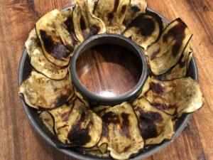 Timballo di anelletti e melanzane alla siciliana